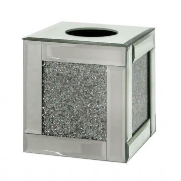 Crushed Diamond Tissue box square